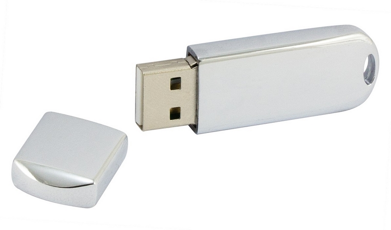 PDm-16 - Pendrive PDm-16 - Solidny chromowany - 2
