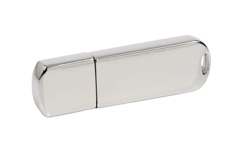 PDm-16 - Pendrive PDm-16 - Solidny chromowany - 4